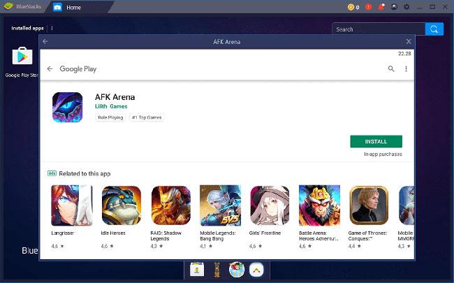 afk arena online download