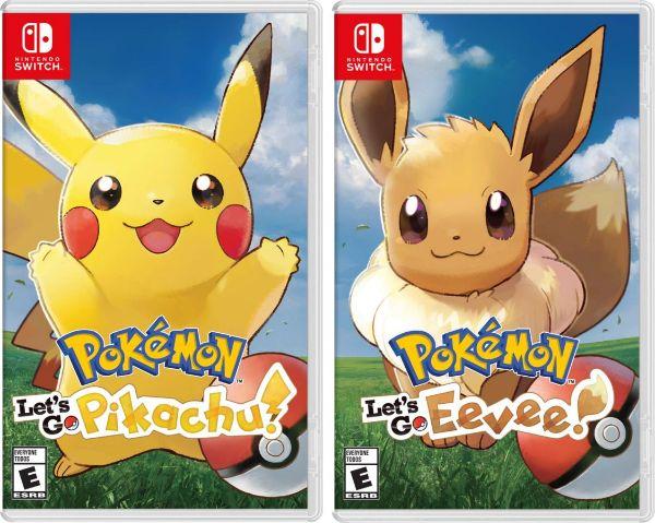 pokémon: let's go, pikachu! and let's go, eevee!